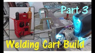 Harbor Freight 14.5 End Cabinet Toolbox Welding Cart Build -- Part 3
