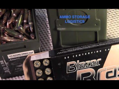 SHTF Ammo Supply Logistics