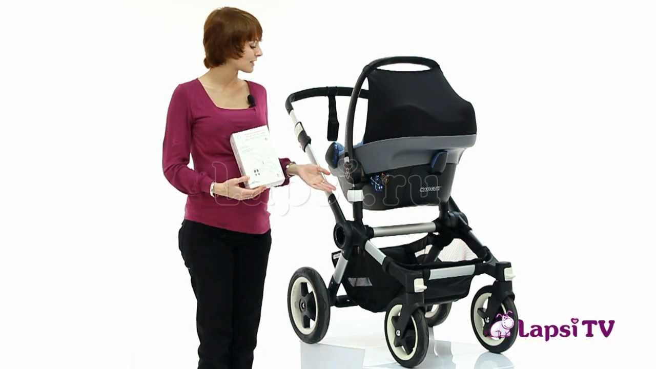 bugaboo buffalo demo – assembly with bassinet and seat - YouTube