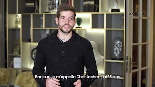 Découvrez Christopher, Chef de partie cuisine, Groupe Barrière