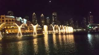 Dubai Fountain - Celine Dion & Andrea Bocelli - NOVEMBER 2015