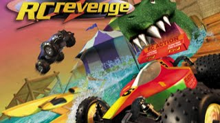 RC Revenge - RC Action PS1 Gameplay HD