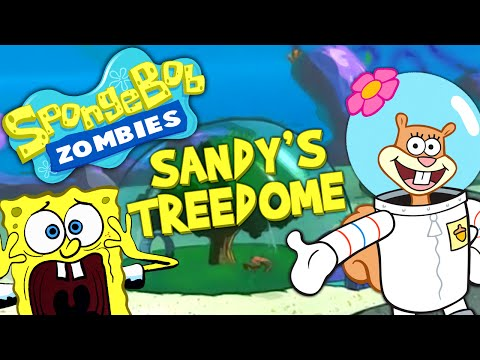 SPONGEBOB ZOMBIES: SANDY'S TREEDOME ★ Call of Duty Zombies (Zombie Games)