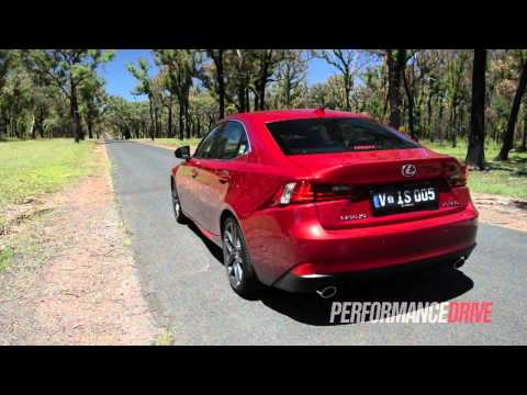 2014 Lexus IS 350 F Sport 0-100km/h and engine sound