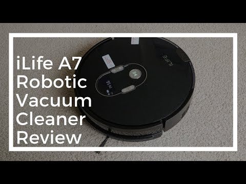 LEO & TECH | iLife A7 Robotic Vacuum Cleaner