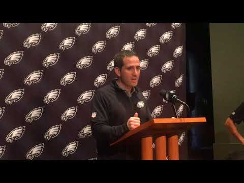Philadelphia Eagles' Howie Roseman explains why team kept 5 RBs on initial 53-man roster