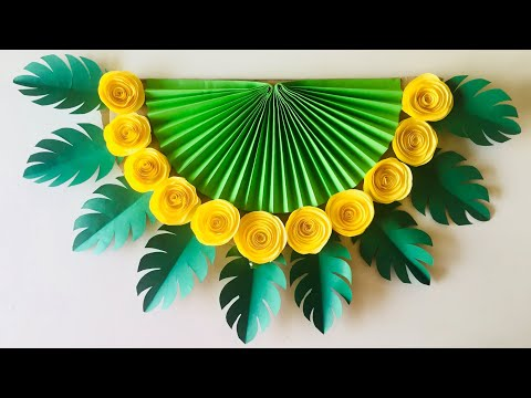 wall-decoration-ideas-|-diy-wall-hanging-|-paper-wall-hanging-craft-ideas