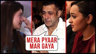 Salman Khan's LOVE Passes Away, Sonakshi Sinha , Daisy Shah MOURN