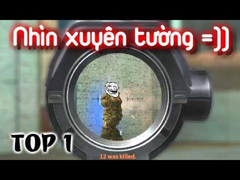 """Hack wall và TOP 1 SOLO đầu tiên của Nguyen Linh =)) """" Rules of Survival pc #2 """""""