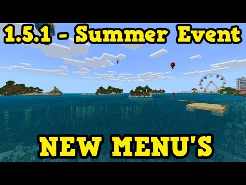 Minecraft Bedrock 151 Out Now + Summer Event Starting