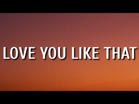 Parker McCollum - Love You Like That (Lyrics)