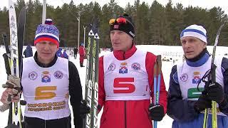 Ветераны боевых действий из северных городов Свердловской области встретились на серовской лыжне