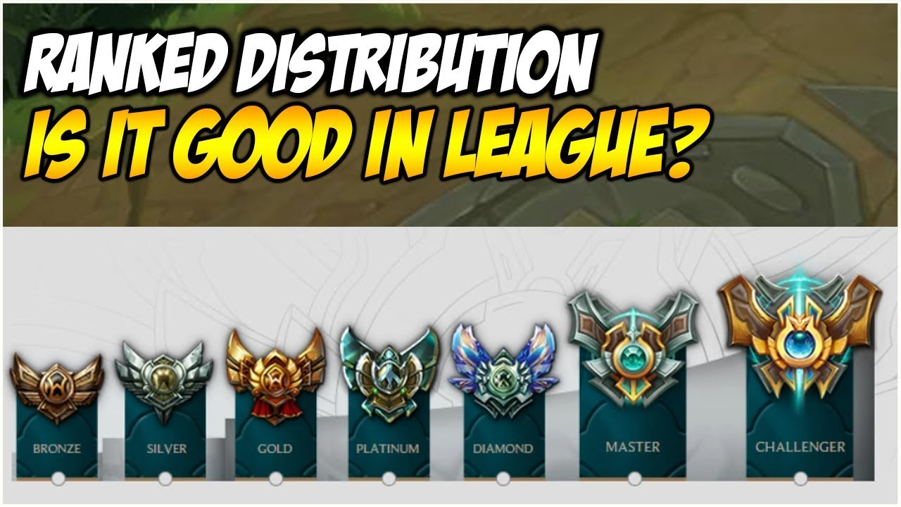 RANKED DISTRIBUTION IN LEAGUE OF LEGENDS, IS IT GOOD?   League of Legends