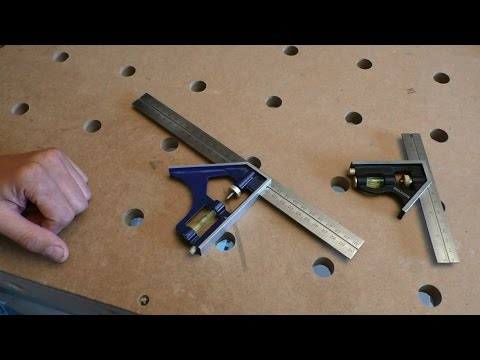 Ремонт комбинированного угольника - Repair Combination Square