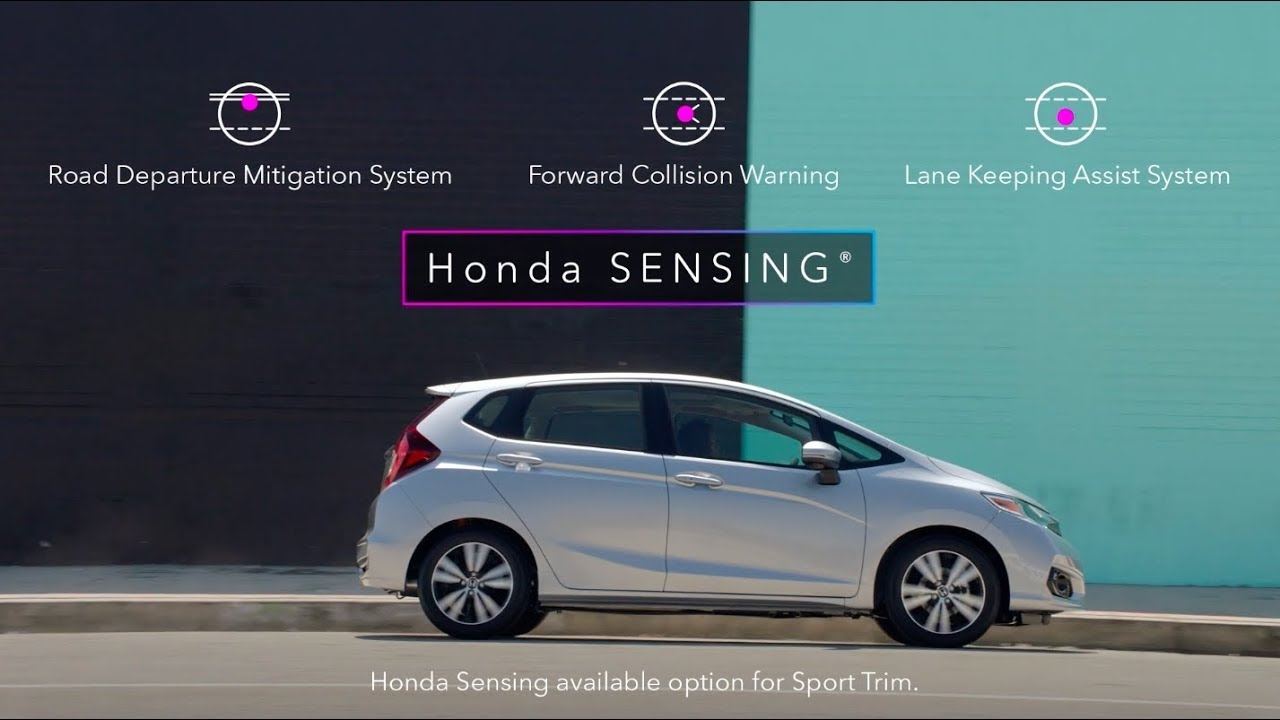 2019 Honda Fit With Available Sensing