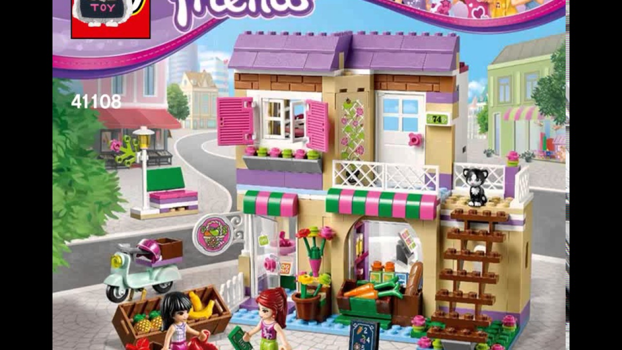 Lego Friends Food Market Instructions