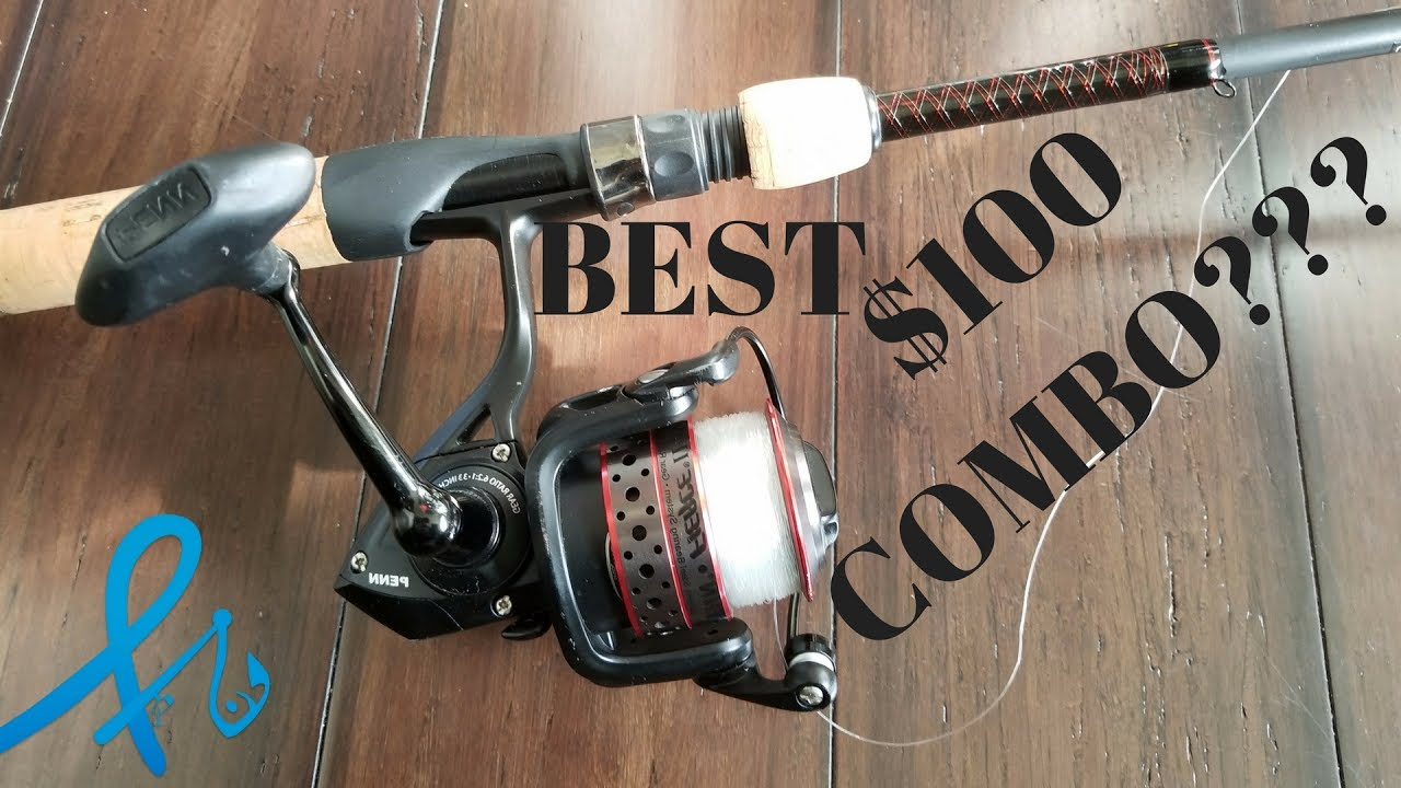 Best fishing combo for saltwater at around 100 penn for Best spinning reel for bass fishing