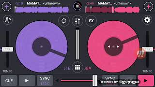 Dj mamat djfar vs one heart tutorial menyambung
