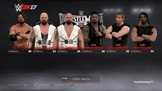 The Bullet Club vs The Shield - WWE 2K17 Future Stars Pack DLC