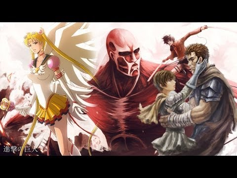 Attack on Titan Dub, Berserk Returns, New Sailor Moon Details, New Durarara, March 4th Youtube Bug