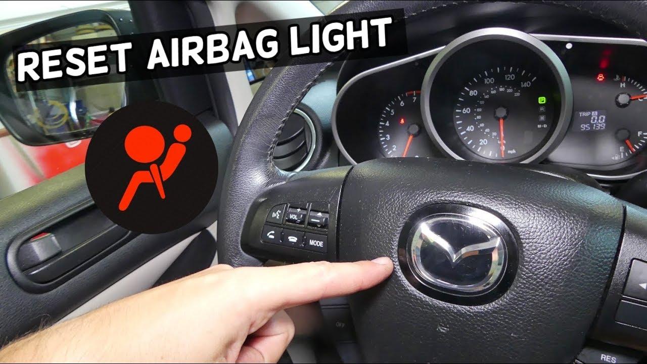 How To Reset Airbag Light On Mazda 2 3 5 6 Cx 3 Cx 5 Cx 7 Cx 9 Mx 5 Miata Air Bag Youtube