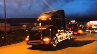 American truck meeting, Tretten
