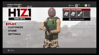 H1Z1  how to get Loading PS4