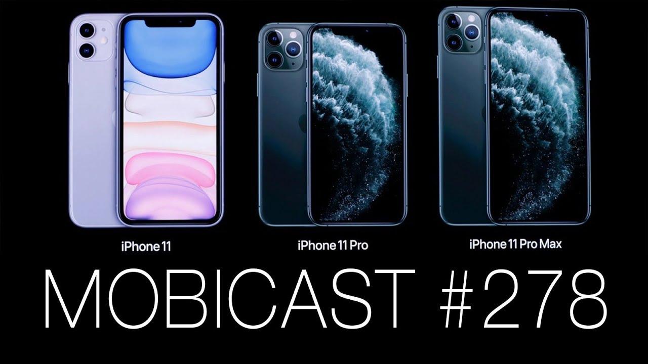 Mobicast 278: Ştirile săptămânii din tehnologie (Lansare iPhone 11 + noutăţi)
