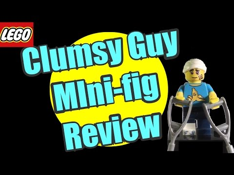 Lego Minifigure review: CLUMSY GUY