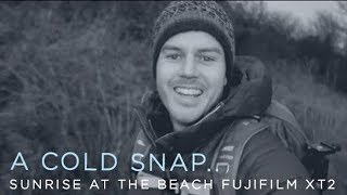 A Cold Snap - Landscape Photography Adventure Sunrise on the Beach, South Wales