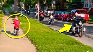 7-летняя Девочка Просто Ехала на Велосипеде Когда к Ней Подъехали «Каратели»
