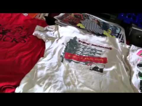 Vintage punk T-shirts