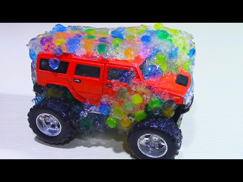 МАШИНКИ ВО ЛЬДУ! Замораживаем машинки в ШАРИКАХ ОРБИЗ Car Toys Frozen!