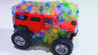 Машинки Во Льду! Замораживаем Машинки В Шариках Орбиз Car Toys Frozen!