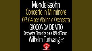 Concerto in Mi minore op 64: 3° Allegro Molto Vivace