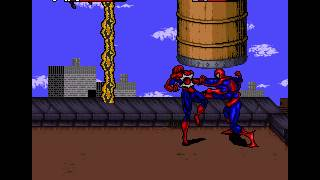 Spider Man Venom Maximum Carnage Snes Game Super Nintendo