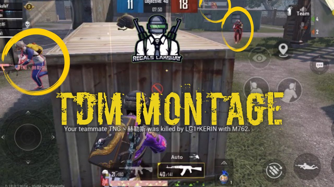 Tdm Montage || 3 Finger Claw || Non Gyro Player