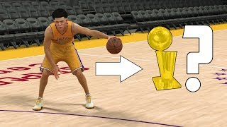 WILL LONZO BALL BRING A CHAMPIONSHIP TO THE LAKERS? NBA 2K17 GAMEPLAY!