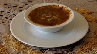 Muhteşem yöresel lezzet Mercimekli Aş Çorbası. Kışın hastalıklara birebir