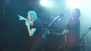 Roger Waters bajo la lluvia. 10-11-2018. La Plata, Argentina