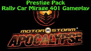 MotorStorm: Apocalypse Prestige Pack - Rally Car Mirage 401 Gameplay