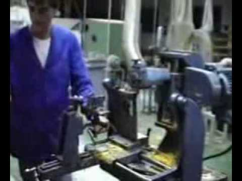 Fabricación de hormas para el calzado