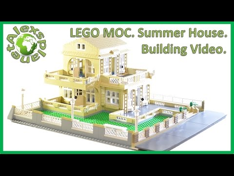 lego-moc.-summer-house.-build-review.