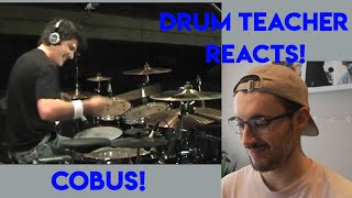 Drum Teacher reacts to Cobus (Avenged Sevenfold - Afterlife)