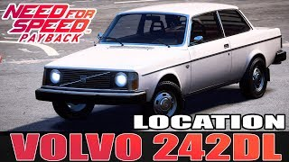Need for Speed™ Payback | Volvo 242DL | Nova Localização | Nova Classe | Off-Road