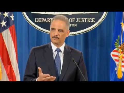 Eric Holder: Ferguson Police Cultivated A 'Toxic' Environment