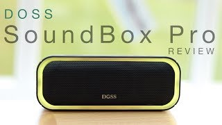 Doss SoundBox Pro Bluetooth Speaker: Review & Giveaway!