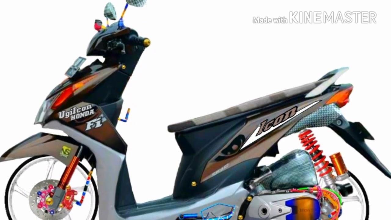 Modifikasi Motor Beat Babylook Style Mobiliobaru