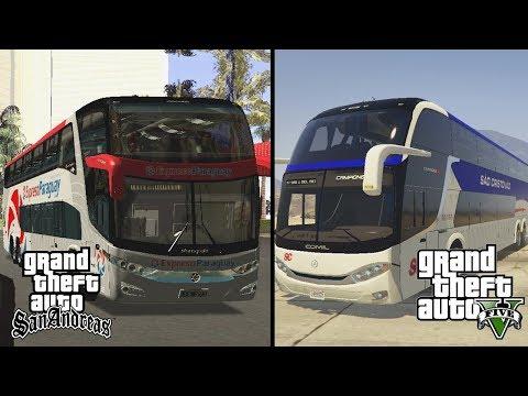 BUS GTA 5 VS BUS GTA SAN ANDREAS | MANA YG TERBAIK?