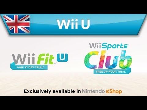 How to claim your free trial of Wii Sports Club & Wii Fit U (Wii U)